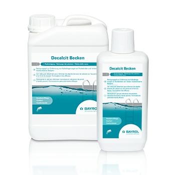 1 Liter Decalcit Becken Poolreiniger, Reinigungsgel zur Entfernung von Kalkablagerungen im Pool