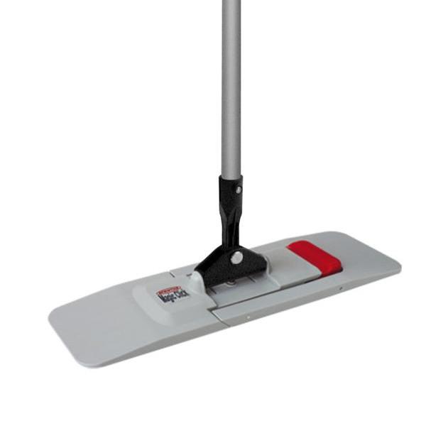 """Mopp-Halter/Kunststoffklapphalter """"Magic"""" 50 cm, grau/schwarz, selbststehend"""