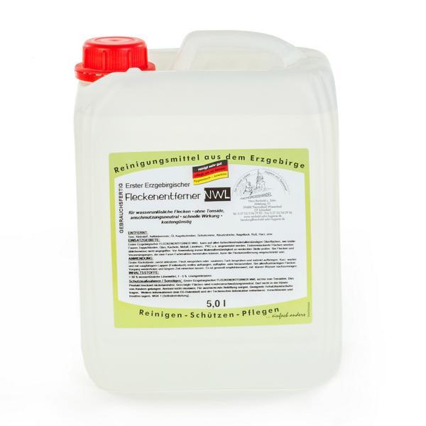 5 Liter Erster Erzgebirgischer Fleckenentferner NWL | für nicht wasserlösliche (NWL) Flecken