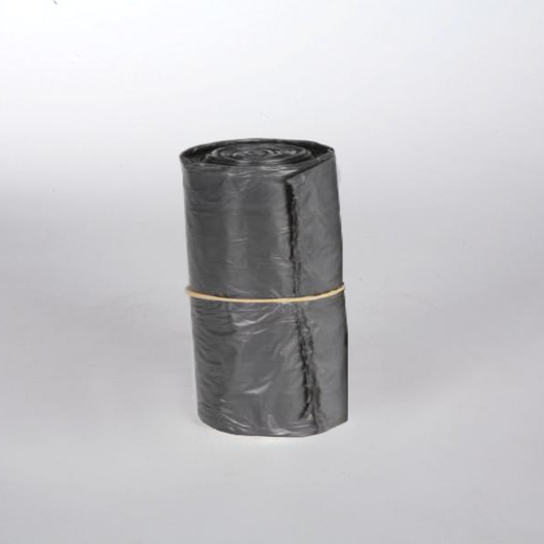 Rolle Müllbeutel 60 Liter, 25 Stück/Rolle, grau, 800 x 600 mm, ca. 33µ
