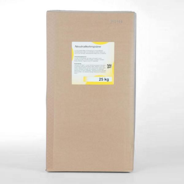 25 kg Neutralkehrspäne | Kehrmittel ohne Pflegestoffe für alle nicht gebohnerten Fußböden