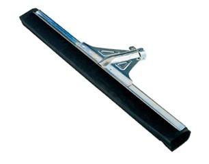 Wasserschieber/Bodenwischer/WaterWand® Bodenschieber, verstärkt, Doppellippe schwarz 55 cm