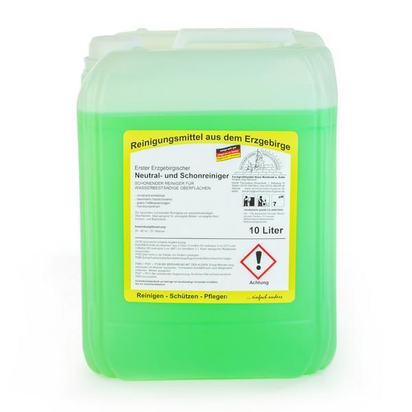10 Liter Erster Erzgebirgischer Neutral- und Schonreiniger | schonender universeller Reiniger