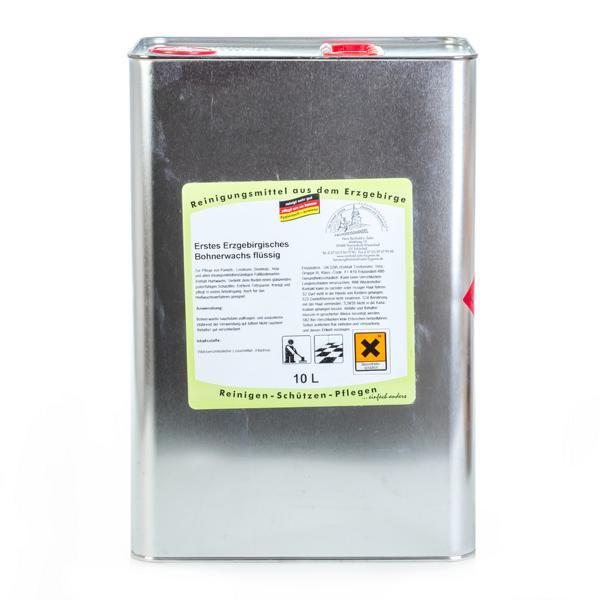 10 Liter Erstes Erzgebirgisches Bohnerwachs flüssig | flüssiges Hartglanzwachs