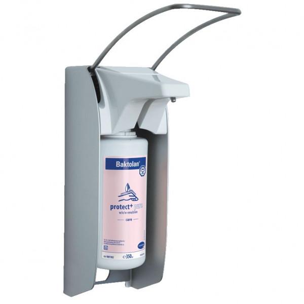 BODE Eurospender 1 plus für 1 Liter Flaschen, kurzer Armhebel (160 mm tief) | Metall