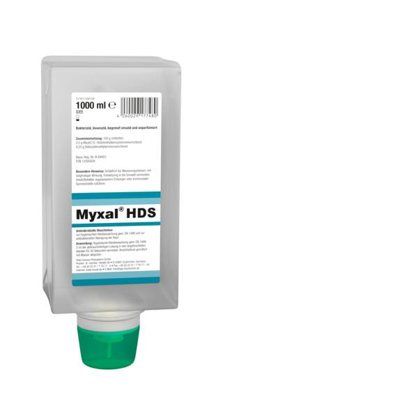 1 Liter Varioflasche MYXAL® HDS Antimikrobielle Waschlotion für Haut und Hände