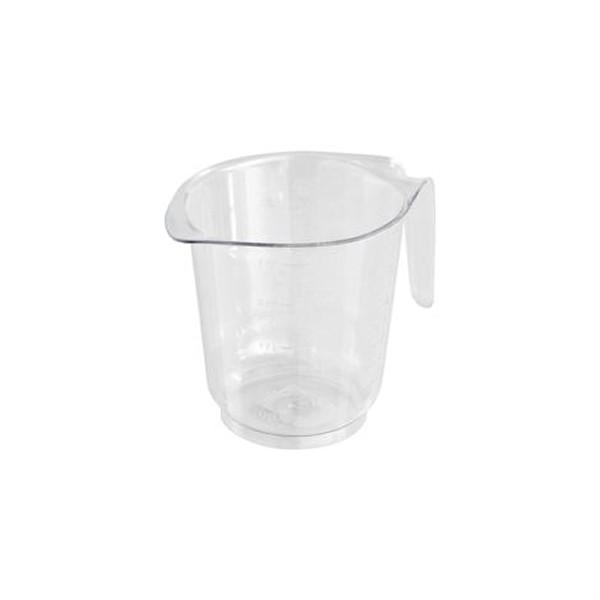 Messbecher 500 ml, mit Prägeskala | glasklar