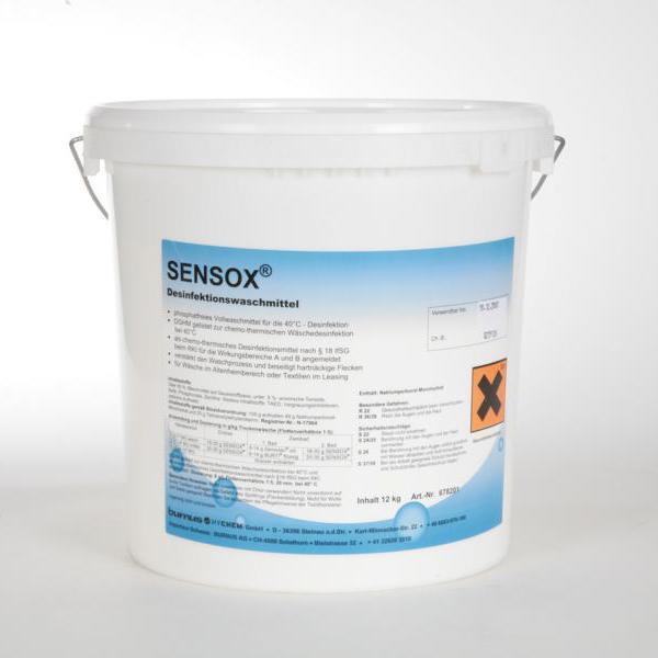 7,5 kg Sensox® | Desinfektionswaschmittel | +++ BIOZIDPRODUKTE VORSICHTIG VERWENDEN. +++