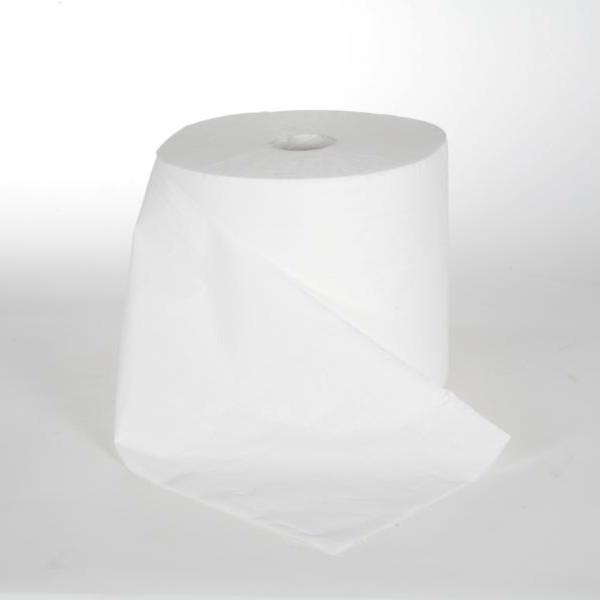 6 Rollen Papierhandtücher á 120 m, 2-lagig, geprägt, unperforiet, 6 Rollen/Sack