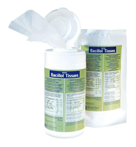 100 Tücher Bacillol Tissues Nachfüllbeutel | Flächen-Desinfektionstücher