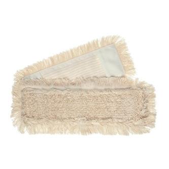 topmop® 40 cm, Mopp mit Schlingen und Fransen, Polyesterdeckblatt | mit weißem Einfassband