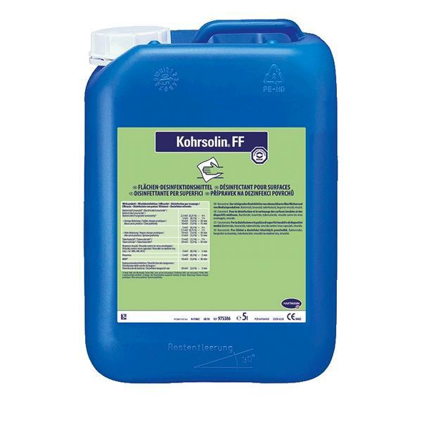 5 Liter Kohrsolin® FF | formaldehydfreier Flächendesinfektionsreiniger