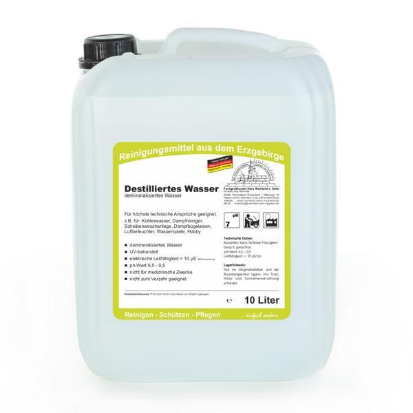 10 Liter Destilliertes Wasser