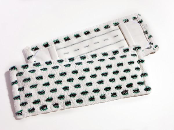 Mikrofasermopp-Leichtläufer mit Cluster Borsten | 50 cm | Material: Mikrofaser mit Polyamidborsten