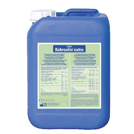 5 Liter Kohrsolin extra | Desinfektionsreiniger, universal auch für Seuchenfälle, RKI-gelistet