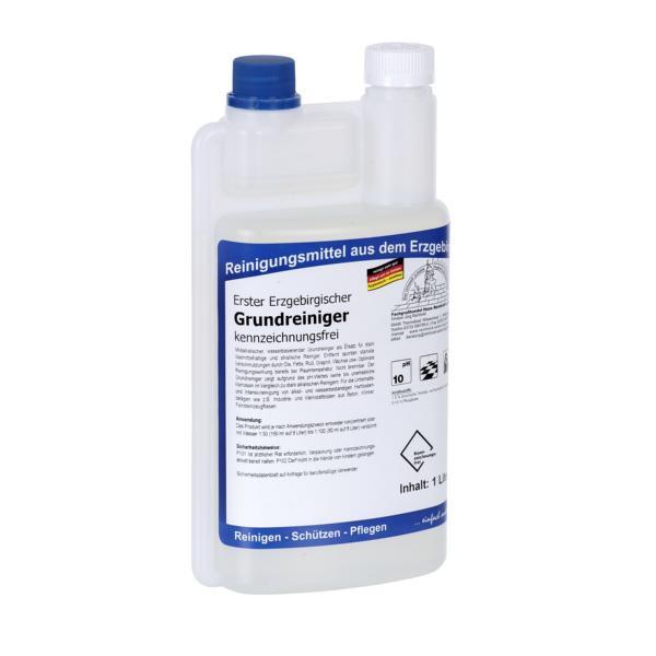 1 Liter Dosierflasche Erster Erzgebirgischer Grundreiniger kennzeichnungsfrei