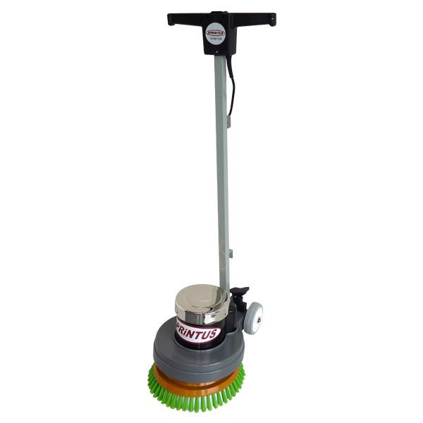 """Einscheibenmaschine Sprintus """"EEM 13 R"""" inklusive Bürste weich + hart und Padtreibteller"""