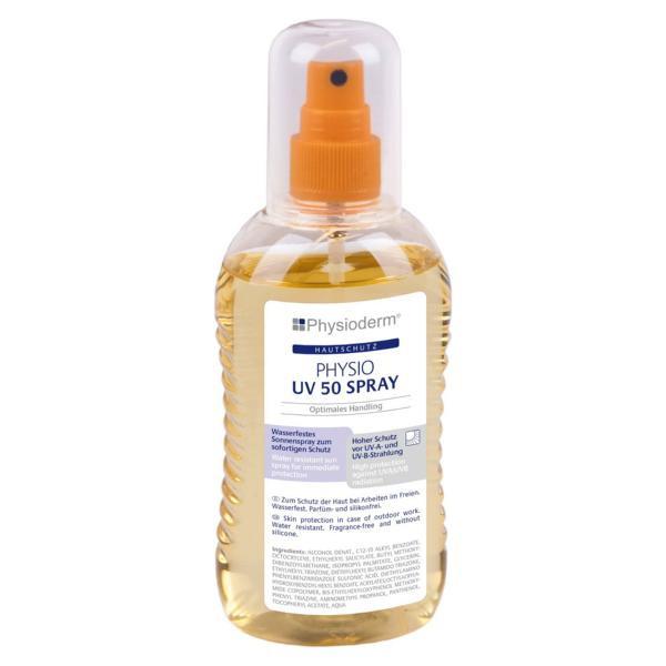 200 ml Sonnenspray PHYSIO UV 50 Spray | Pumpspray, Lichtschutzfaktor 50, ohne Parfum
