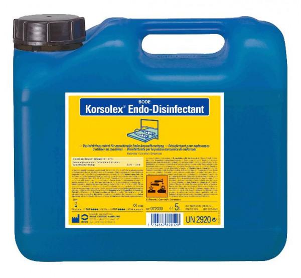 5 Liter Korsolex® Endo-Disinfectant | für die chemo-thermische Endoskopaufbereitung