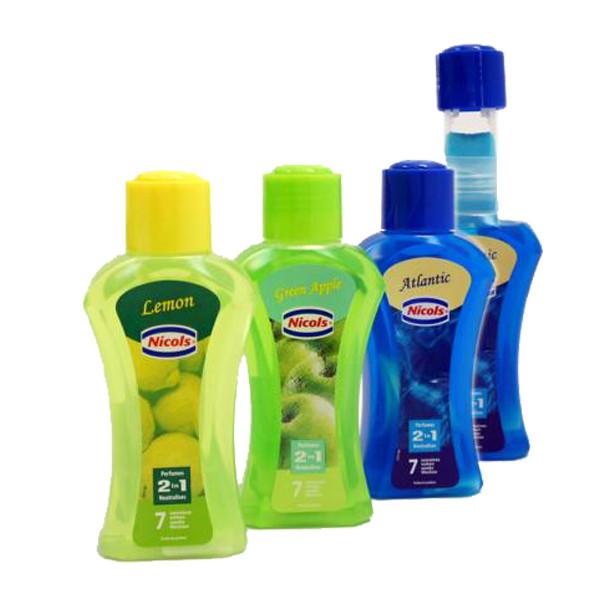 Lufterfrischer Dochtflasche 375 ml | Duftnoten: Ocean, Flower, Citron, CleanLinen