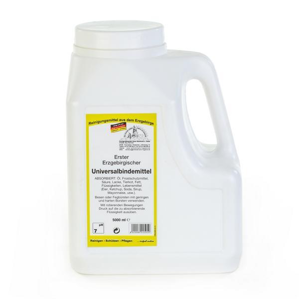 5 Liter Erstes Erzgebirgisches Universalbindemittel Pulver   Hochwirksames Universal-Bindemittel