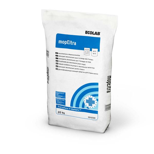 mopEltra | 20 kg | Desinfektions-Mopwaschmittel, für die chemothermische Wäschedesinfektion