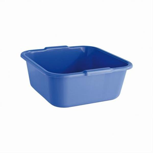 Viereckschüssel 38 x 38 x 15 cm, 14 Liter   Farben: granit, blau, rot