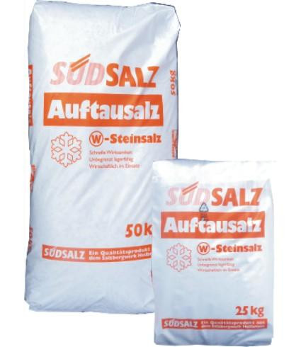 Südsalz Tausalz   im Kunststoffsack   25 kg