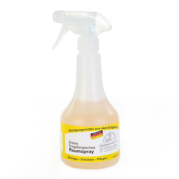 500 ml Erstes Erzgebirgisches Raumspray | Sprühflasche mit erfrischendem Deodorant