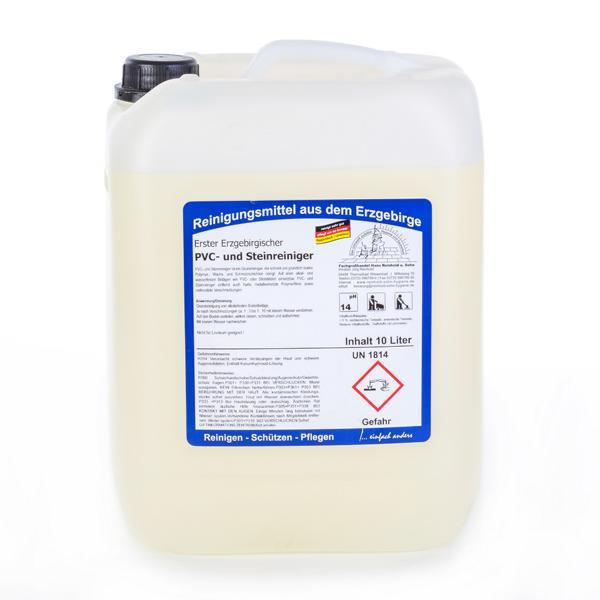 10 Liter Erster Erzgebirgischer PVC- und Steinreiniger | starker Grundreiniger