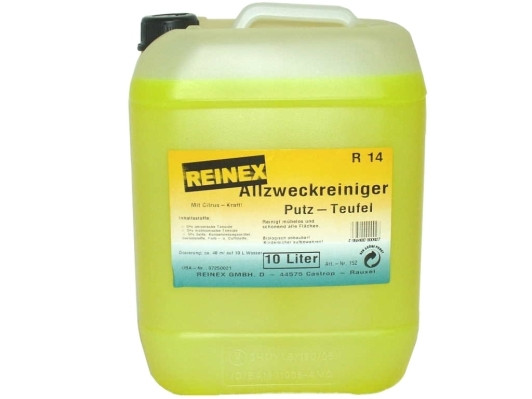10 Liter REINEX® Allesreiniger | Allzweckreiniger Putzteufel Zitrus