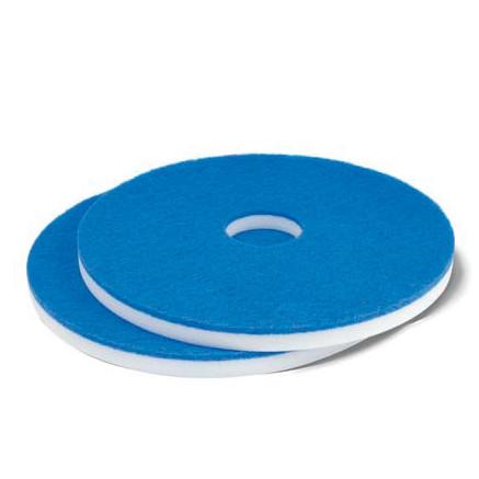 Maschinenpad / Magic Superpad, 13'' (330 mm), Melamin, weiß/blau