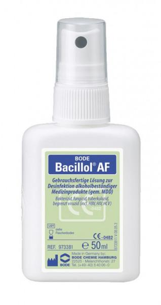 Bacillol® AF, aldehydfreie, alkoholische Schnelldesinfektion für Flächen, 50 ml, gebrauchsfertig