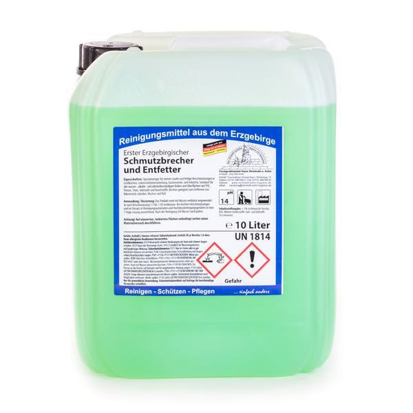 10 Liter Erster Erzgebirgischer Schmutzbrecher und Entfetter | für extrem starke Verschmutzungen