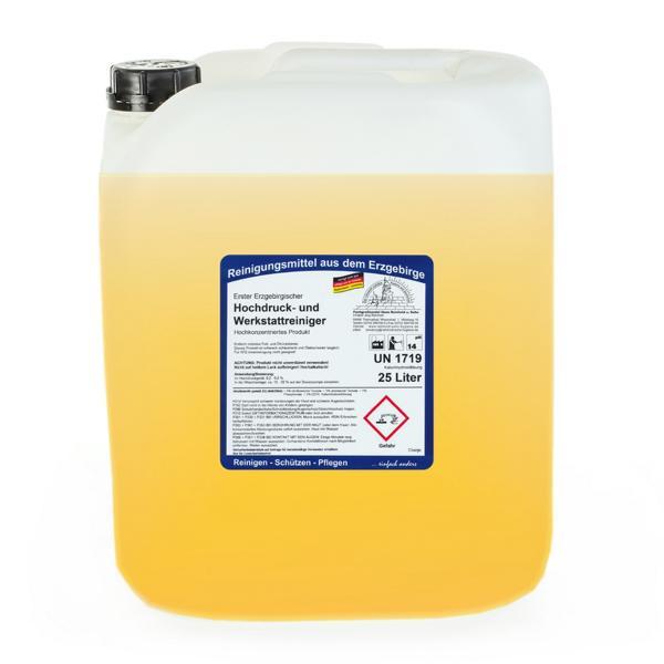 25 Liter Erster Erzgebirgischer Hochdruck- und Werkstattreiniger | Hochkonzentriertes Produkt