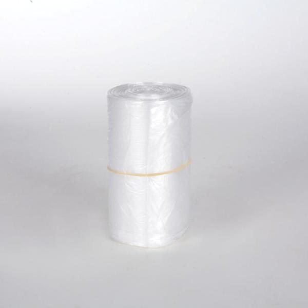 50 Stück/Rolle Müllbeutel 60 Liter, HDPE transparent, 630 x 740 mm
