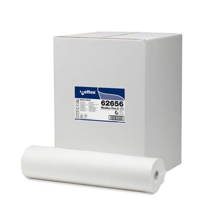 9x Ärzterollen 2-lagig á 50 m, SPARPACK 55 cm x 50 m, reine Zellulose, 9 Rollen/Karton