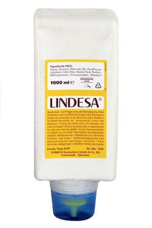 Lindesa® (Typ O/W) 1-Liter-Faltflasche   Hautschutzcreme mit Bienenwachs