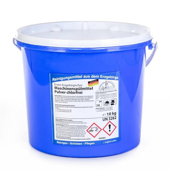 10 kg VORTEILSPACK Erstes Erzgebirgisches Maschinenspülmittel Pulver chlorfrei | Intensivreiniger