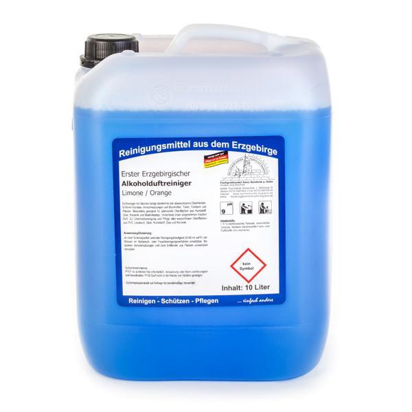 10 Liter Erster Erzgebirgischer Alkohol-Duftreiniger Limone/Orange