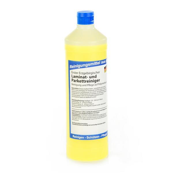 1 Liter Erster Erzgebirgischer Laminat- und Parkettreiniger | Reinigung und Pflege auf Polymerbasis